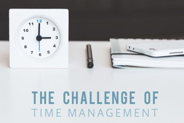 The Challenge of Time Management